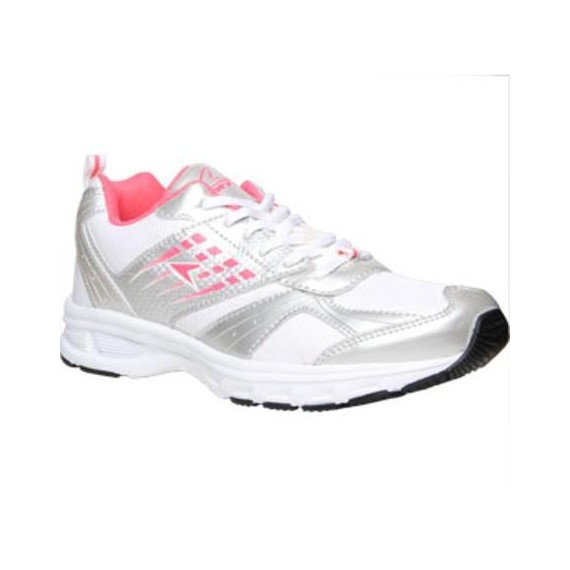 Power Shoes For Women - White / Pink