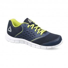 REEBOK GUIDE STRIDE RUNNING SHOES - NAVY / YELLOW