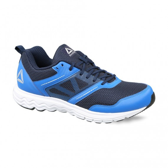 REEBOK RUNNING FUEL RACE XTREME SHOES - COLLEGIATE NAVY / BLUE