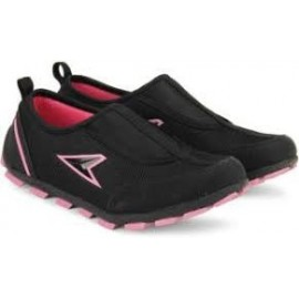 Power Black Casual Shoes For Women