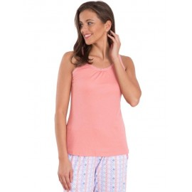 Jockey Lace Back Tank Top Style RX11 - Peach Blossom
