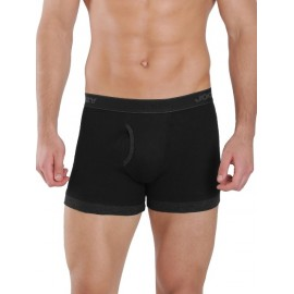 Jockey Black & Black Melange Fashion Trunk - Pack of 2