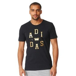 Men's Adidas Training Crown Logo Tee