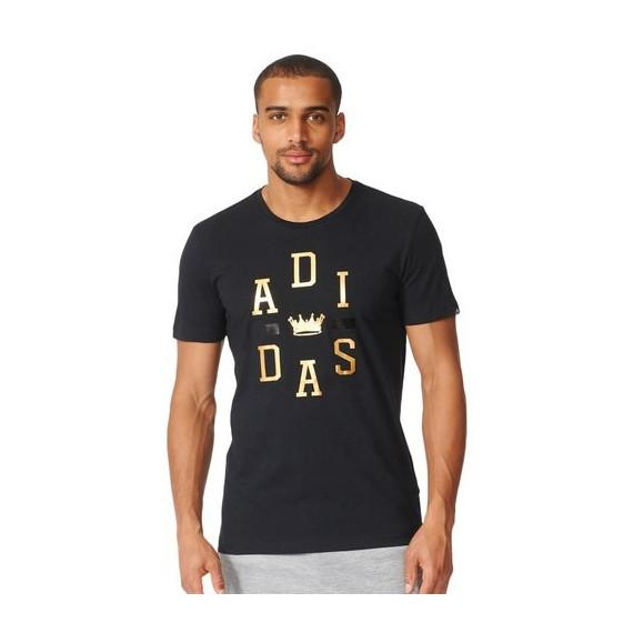 Men's Adidas Training Crown Logo Tee