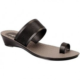 Bata Ladies Chappal - Black