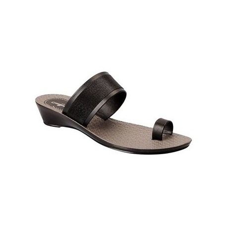 Bata Ladies Chappal - Comfortina 97 - Black