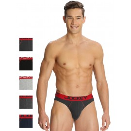 JOCKEY MODERN BRIEF PACK OF 6 - ASSORTED - STYLE US17