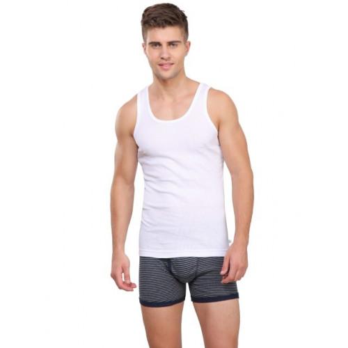 Jockey Elance Vest Pack of 2 - White
