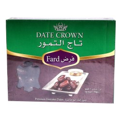 Date Crown - Fard - Black Dates - Delicious Kali Khajur (1KG)