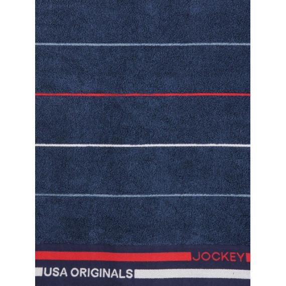 JOCKEY INK BLUE GRINDLE BATH TOWEL - STYLE T122