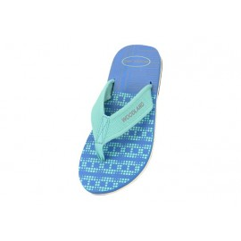 WOODLAND RBLUE CASUAL FLIP FLOPS