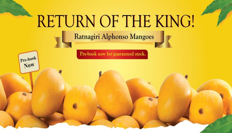Delicious Alphonso Mangoes