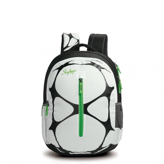 Skybag White Backpack Pogo 02