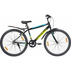Hercules StreetCat Pro 24T Matte Black With With Neon Yellow