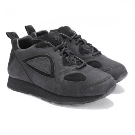 WOODLAND BLACK CASUAL OUTDOOR SHOES