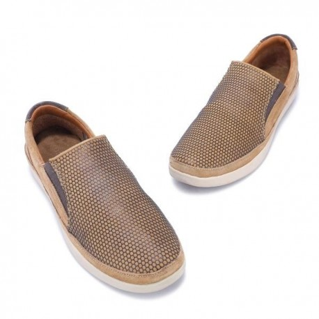 WOODLAND CAMEL CASUAL SNEAKERS