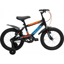 KIDS CYCLE - HERCULES STREET CAT PRO 16T BLUE/NEON ORANGE